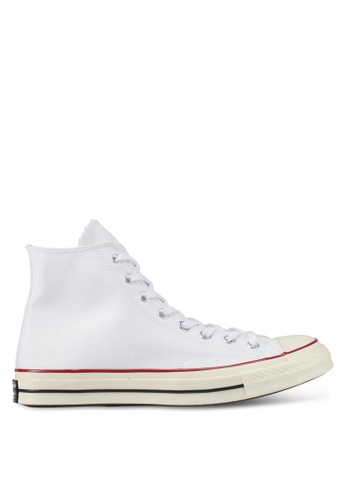 Converse black and white and red Chuck Taylor All Star '70 Hi Sneakers CO302SH0SW63MY_1
