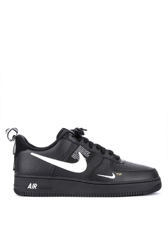 Nike black Air Force 1 07 Lv8 Utility Shoes FA8CESH4BEAF50GS1