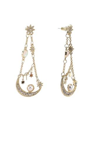 Red's Revenge gold Heavenly Charms Dangle Earrings 73CC9AC9FA2AA5GS_1