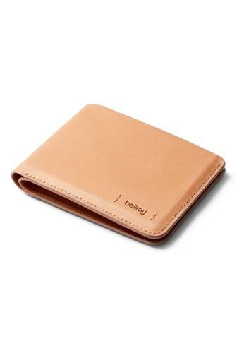 Bellroy beige Bellroy Hide & Seek Wallet LO (Premium Edition) - Natural C1D6DACA18EED0GS_1