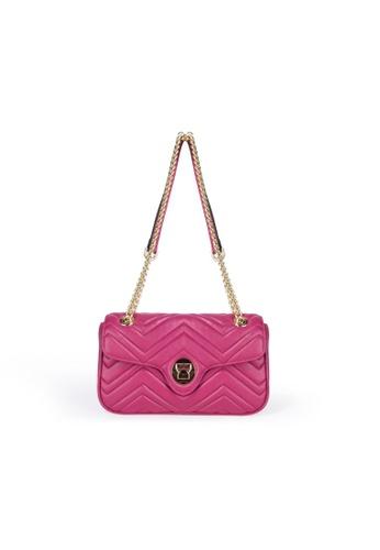 Esfolar pink Esfolar Shoulder  Bag (EA300232) C676BACD64F163GS_1