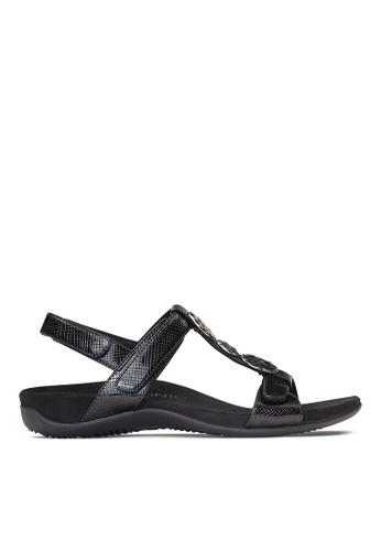 Vionic black Farra Backstrap Sandal 2C503SH36B3285GS_1