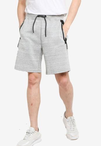 SUPERDRY grey Gymtech Shorts EFB50AAEC7FFDDGS_1