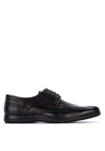Gibi black Yum Laced-Up Formal Shoes 79B74SH7B12734GS_1