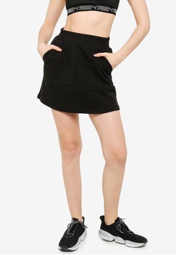 Puma black Downtown Women's Skirt B1249AA350CAC9GS_1
