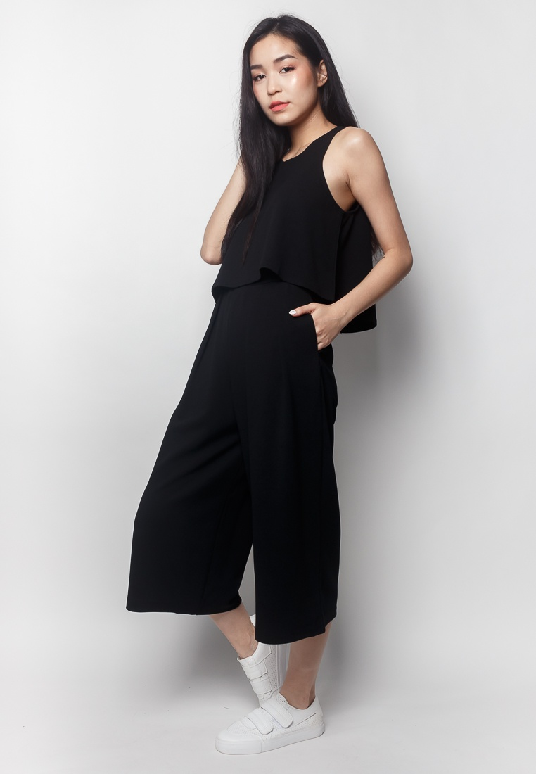 ROXAN black Jumpsuit 2 2nd Piece Edition RBxAOq7