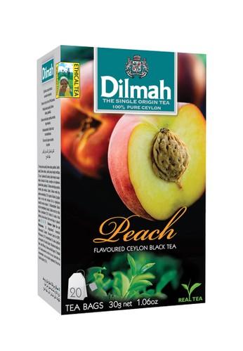 Dilmah Dilmah Peach Tea - Tag Tbag 20s 54B71ESF614B78GS_1
