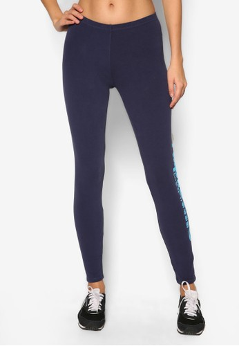 品牌標誌高腰內搭褲zalora 心得, 服飾, 緊身褲