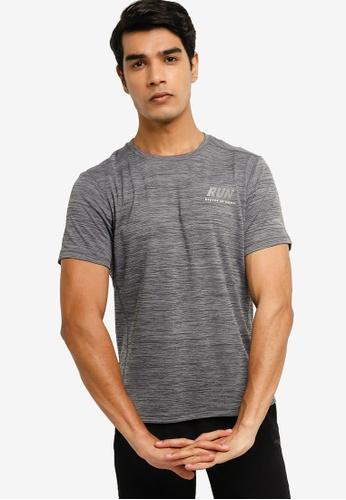 Anta 灰色 C100 短袖T恤 76E9BAAD98DF26GS_1
