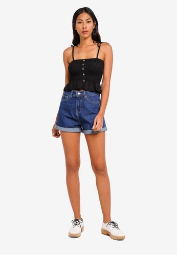 576f06df742 Buy Cotton On Hayley Button Through Top Online on ZALORA Singapore