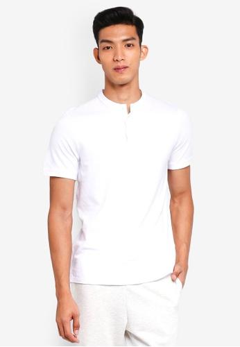 Jack & Jones 白色 Short Sleeve Baseball Polo Shirt 46B7BAAEE1B882GS_1