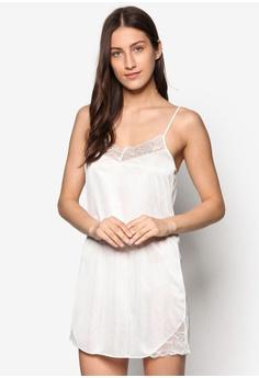 Impression white Lacey Nightdress IM679AA01WZMMY 1 737530801