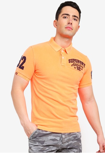 Shop Superdry Classic Superstate Pique Polo Shirt Online on ZALORA  Philippines 6f0323bed