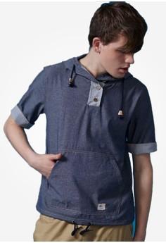 Denim Hipness Hoodie Shirt