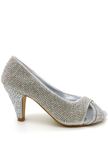 Emily Dillen Febby Shoes 397-127 Silver