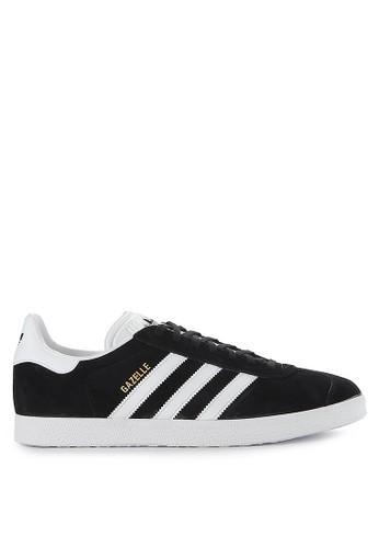 adidas black adidas originals gazelle shoes 34345SH0DB3F98GS_1