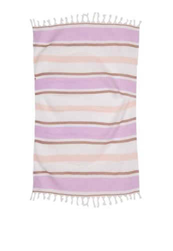 Rubi purple Coogee Lightweight Towel 4C2A4AC30BDE17GS_1