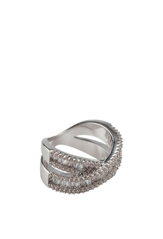 85576424d 15% OFF ALDO Arindra Criss Cross Ring RM 120.00 NOW RM 101.90 Sizes 6 7 8 9