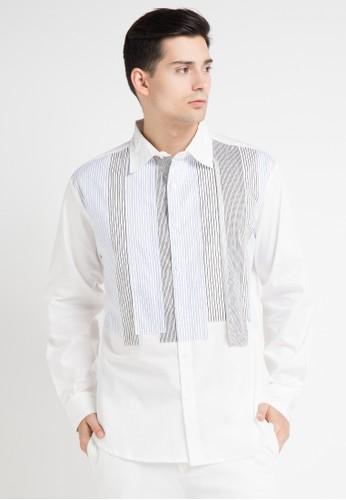 (X) S.M.L white Severo Shirt XS330AA0WE9PID_1