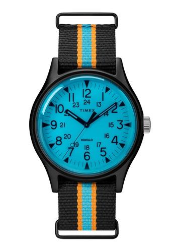Timex black Timex MK1 Aluminum California 40mm - Black Case & Fabric Strap (TW2T25400) 10AE6ACEF175A0GS_1