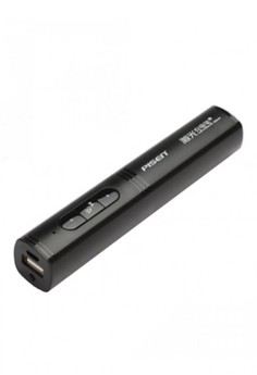 PISEN 2500 mAh Powerbank With Built In Wireless Presenter And Laser Pointer