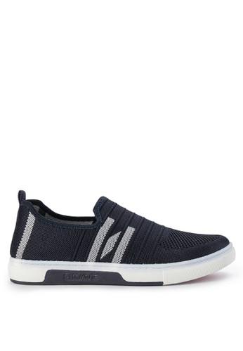 Declan navy Declan Kaley Slip On Sneakers 2828ASH25FE9A7GS_1