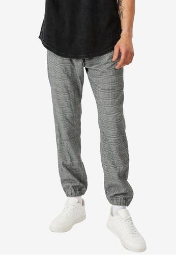 Cotton On black Drake Cuffed Pants 69630AAF66FF74GS_1