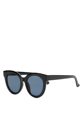 Mango black Acetate Frame Sunglasses 25035GLA4CD040GS_1