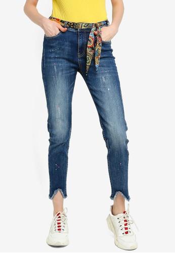 Desigual blue Rainbow Skinny Jeans 9BC7FAA5C76908GS_1
