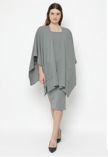 Mannequin grey Flair Outter Set Dres EFCBBAA0D9D4B3GS_1