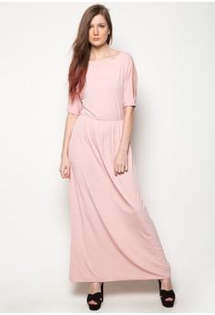 Venus Cut-Out Shoulder Maxi Dress