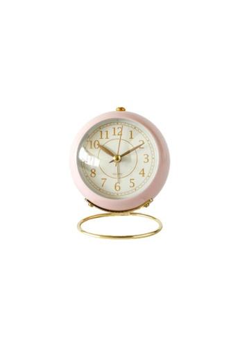 DILAS HOME pink Eloise Vintage Alarm Clock (Pink) 72CDCHLD93F3E0GS_1