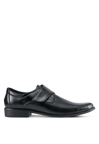 Rocklander black Faux Leather Dress Shoes RO978SH0SMM7MY_1