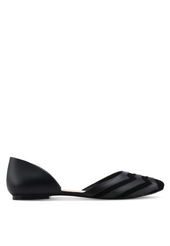 OCEEDEE 黑色 Carole Flats 350F8SH5535B4BGS_1