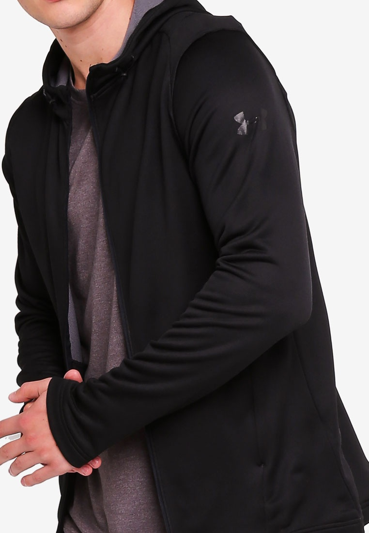 Armour Terry Under Hoodie MK1 FZ Black wICqnvft