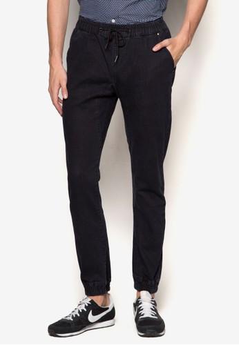 抽繩丹寧牛仔長褲、 服飾、 服飾24:01抽繩丹寧牛仔長褲最新折價