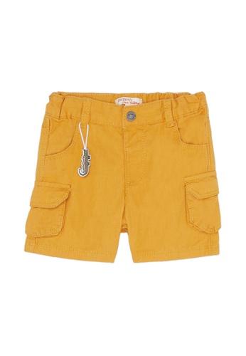 Du Pareil Au Même (DPAM) yellow Crocodile Cargo Shorts 9FF87KACD3CBD3GS_1