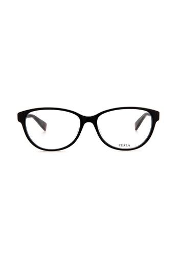 Furla Furla VFU030 Black Eyeglasses  FU454AC0RAMTMY_1