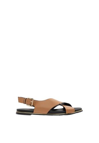 SEMBONIA beige SEMBONIA Flats Shoe (Beige) 487E2SHBDE43D4GS_1