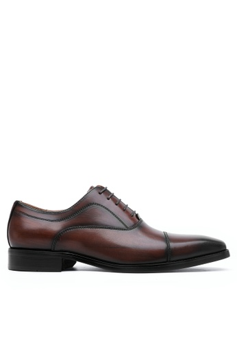 Twenty Eight Shoes Leather Cap Toe Business Shoes DS898301 D6DB1SH55C0665GS_1