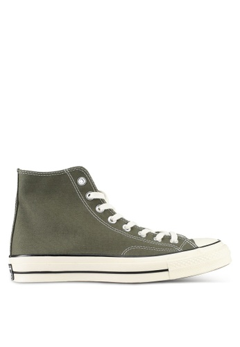 Converse green Chuck Taylor All Star 70 Hi Sneakers CO302SH0SW73MY_1