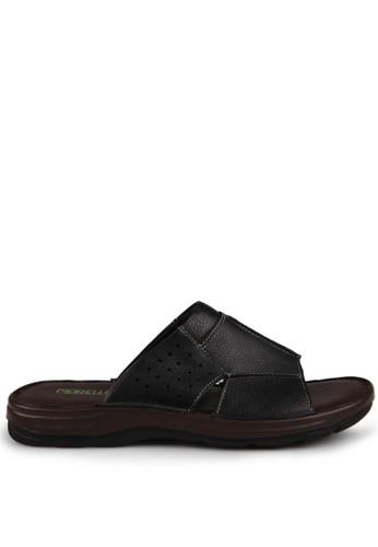 Marelli black Justin Sandals MA036SH53IJYID_1