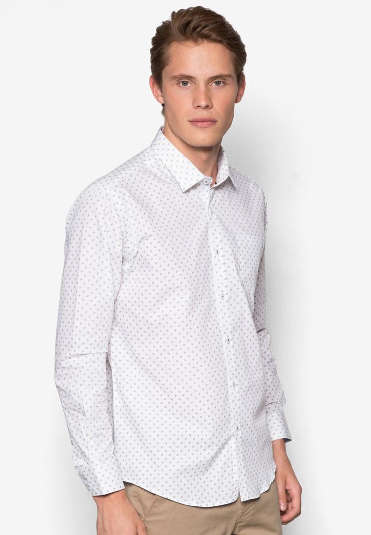 Custom Fit Long Sleeve Fashion Shirt