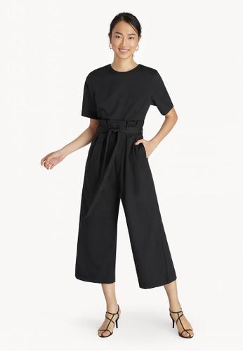 buy cheap suitable for men/women incredible prices Tie Waist Jumpsuit - Black