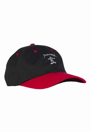 debeda611 Thrasher Gonz Old Timer Hat Black/Red