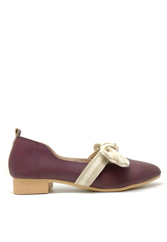 Twenty Eight Shoes Bow Non lining Pointy Flats 426-3 3B43BSH9C5E3A7GS_1