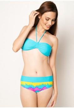 Halter Top With Matching Bikini