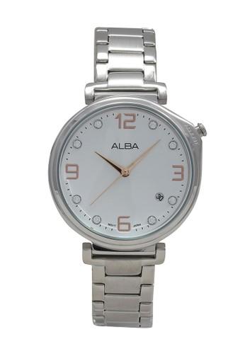 Alba silver ALBA Jam Tangan Wanita - Silver - Stainless Steel - AG8J27 835CCAC035A2BCGS_1