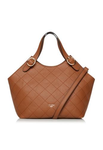 Dune London brown Dune London Dollis Women Quilted Shoulder Bag B2AE8AC5E4157DGS_1