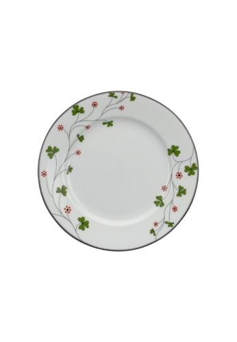 Minh Long I white Jasmine: Porcelain Flat Round Plate (20cm) 01CCDHL8E675C7GS_1